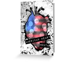 american heart month Greeting Card