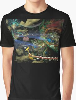 The History of the Bioluminoidal Fractalization Process Graphic T-Shirt