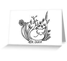 Still Fox Greeting Card