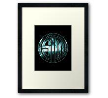 TSM Lights Framed Print