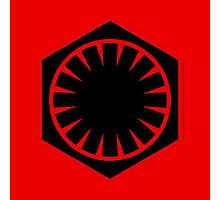The First Order Logo Photographic Print