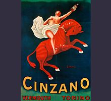Vintage poster - Cinzano Vermouth Torino Unisex T-Shirt