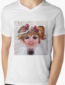 Abigail Angel Mens V-Neck T-Shirt