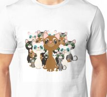 Herd of cats  Unisex T-Shirt