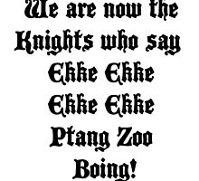 Ekke Ekke Ekke Ekke Ptang Zoo Boing! by ButterfliesT