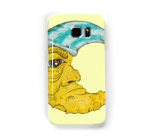Old Man Moon Samsung Galaxy Case/Skin