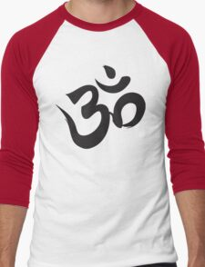 Om Men's Baseball ¾ T-Shirt