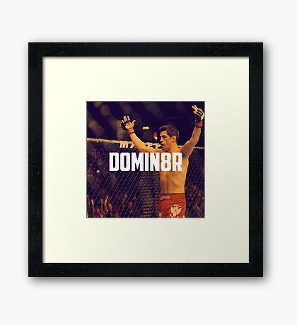 Dominick Cruz UFC Framed Print