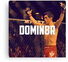Dominick Cruz UFC Canvas Print