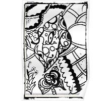 Rachel Doodle Art - Relax Poster