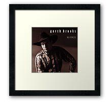 Vintage Garth Brooks by jebrak Framed Print