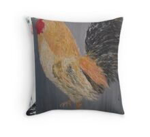 Magestic Rooster Throw Pillow