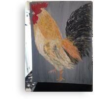 Magestic Rooster Canvas Print