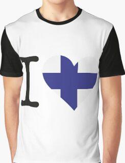 I Love Finland Graphic T-Shirt