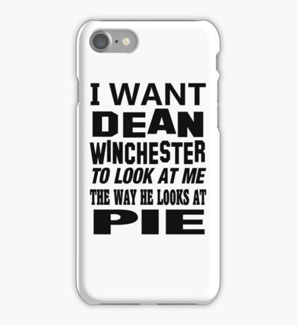 Dean Winchester iPhone Case/Skin