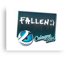 Luminosity FalleN - Cologne 2015 Sticker Canvas Print
