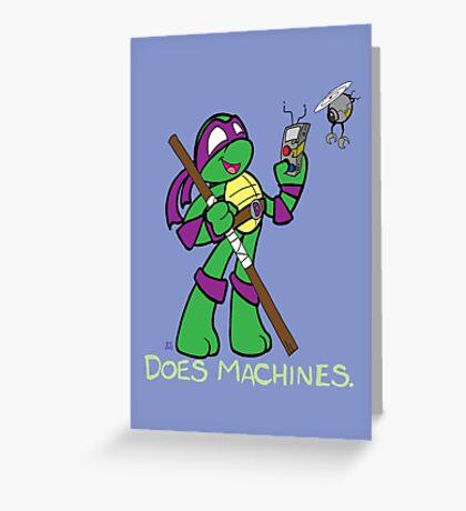 Teenage Mutant Ninja Turtles- Donatello Greeting Card