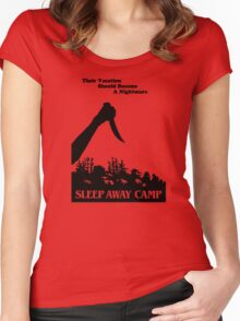 Sleepaway Camp Vintage Women's Fitted Scoop T-Shirt