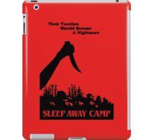Sleepaway Camp Vintage iPad Case/Skin