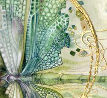 Beautiful Enchanted Dragonfly  Sticker