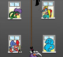 Hang in there! by LillyKitten