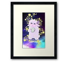 Serenity Space Sheep Framed Print