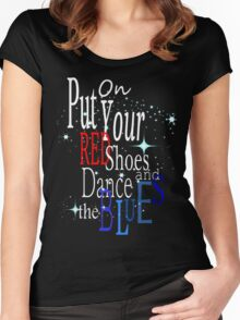 LET'S DANCE ... Women's Fitted Scoop T-Shirt