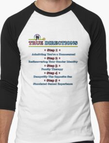 True Directions (But I'm a Cheerleader) Men's Baseball ¾ T-Shirt