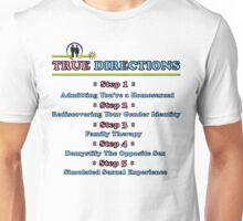True Directions (But I'm a Cheerleader) Unisex T-Shirt