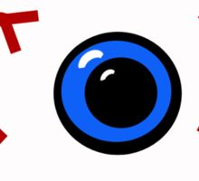 The Red Eye Sticker