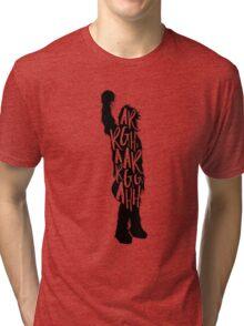Wookiee Talk Tri-blend T-Shirt
