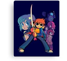 Scott Pilgrim's Finest Hour Canvas Print