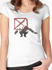 Blockhead Women's Fitted Scoop T-Shirt