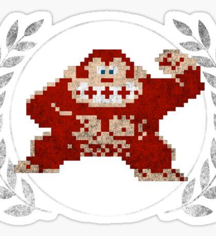 Donkey Kong - Sprite Badge Sticker