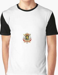 National Coat of Arms of Belgium Graphic T-Shirt