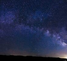 New Mexico Milky Way by IOBurque