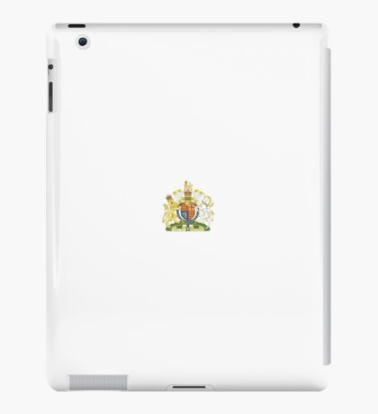 National Coat of Arms of the United Kingdom iPad Case/Skin