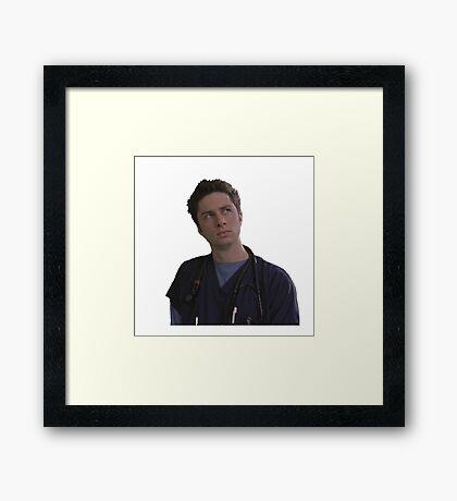 JD Framed Print