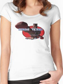 Combo's Supreme Victory! Women's Fitted Scoop T-Shirt