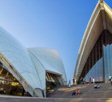 Wide-eyed Sydney Opera House - Australia Sticker