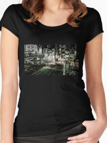 Tokyo Crossing Women's Fitted Scoop T-Shirt