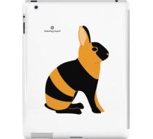 Black Japanese Rabbit iPad Case/Skin