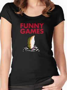 Funny Games Bag Boy Women's Fitted Scoop T-Shirt