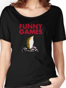 Funny Games Bag Boy Women's Relaxed Fit T-Shirt