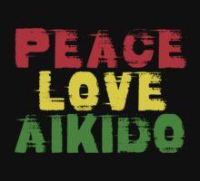 Peace Love Aikido One Piece - Long Sleeve