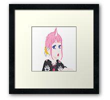 UNI GIRL Framed Print
