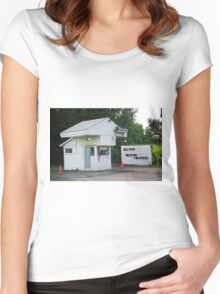 Drive-In Theater Women's Fitted Scoop T-Shirt