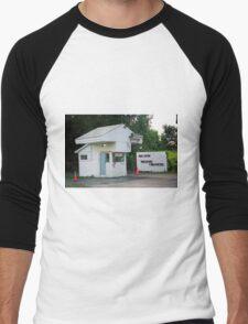 Drive-In Theater Men's Baseball ¾ T-Shirt