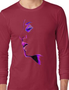When You're Not Here - erotic nude sexy valentine love romance calm awesome beautiful Long Sleeve T-Shirt