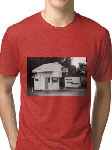 Auburn, NY - Drive-In Theater Tri-blend T-Shirt